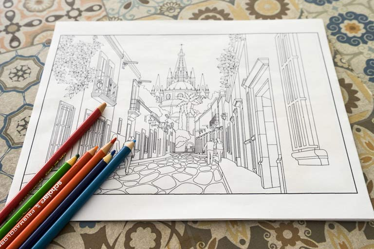 Adult coloring books are extremely popular